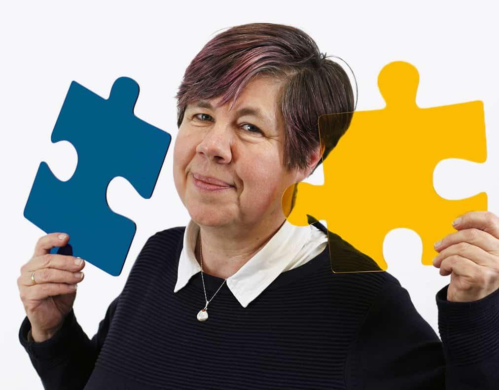 Dr. Irmgard Roth Geschäftsführerin und Gründungsmitglied des Vereins