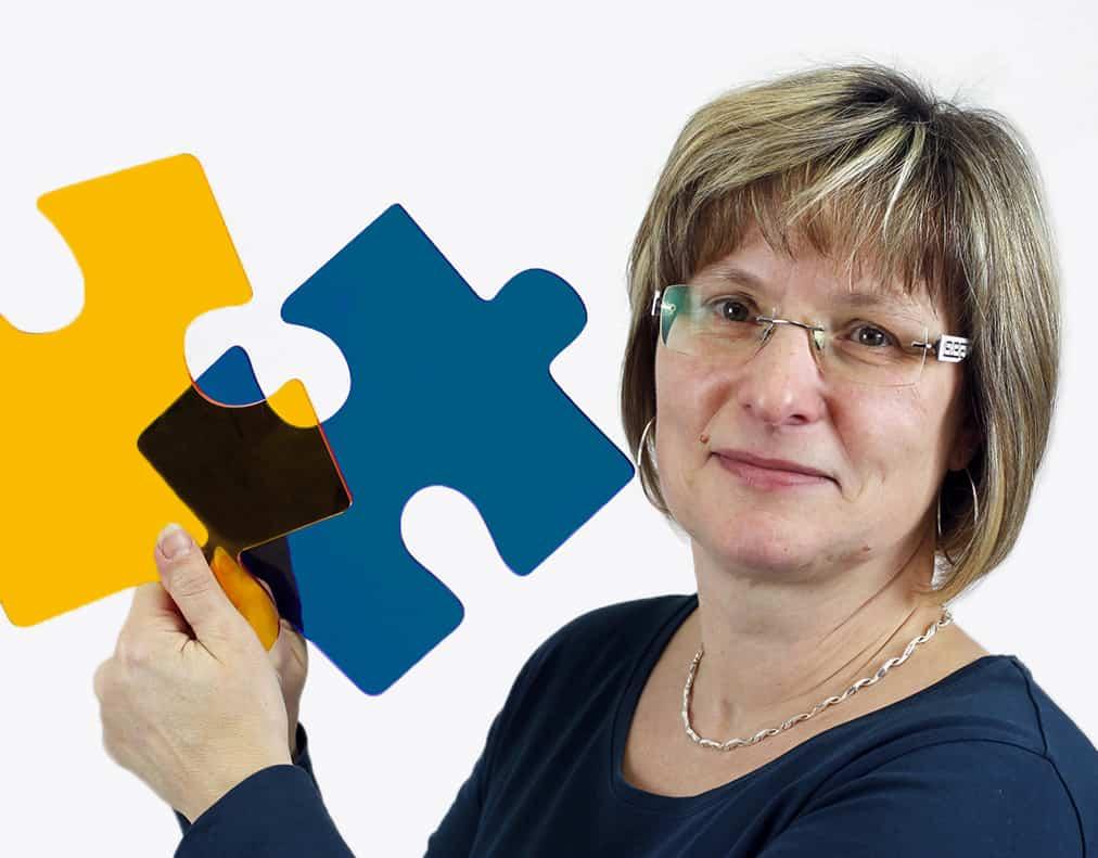 Daniela Teußert, Assistentin der Geschäftsführung Sekretariat